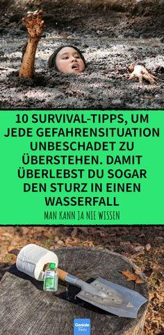 10 Survival-Tipps, um jede Gefahrensituation unbeschadet zu überstehen. Damit überlebst du sogar den Sturz in einen Wasserfall 10 Überlebenstipps, um Gefahrensituationen zu überstehen #überleben #survival #tipps #wildnis #wasserfall #strömung #toilette
