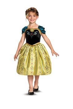 Disguise | Frozen Anna Coronation Gown (Toddler, Little Girls, & Big Girls)