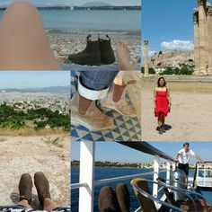 #yourboots...trekking in greece. no greek sandals for this girl :)