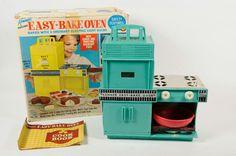 Vintage Kenner Easy Bake Oven Original Box Includes Trays & Bowl Cookbook #Kenner