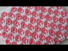 İp kırmadan yapılan örgü modeli & Tığ İşi iki renk bebek battaniye modeli - YouTube Baby Afghan Crochet, Granny Square Crochet Pattern, Filet Crochet, Easy Crochet, Two Color Knitting Patterns, Crochet Stitches Patterns, Stitch Patterns, Crochet Christmas Wreath, Crochet World