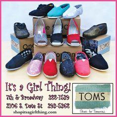Your official Tom's Shoe retailer