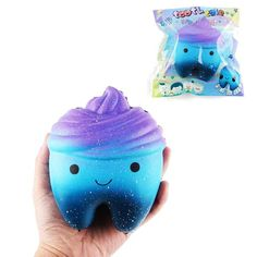 Original Squeeze Kawaii 8.5cm Squeeze Purple Pig Slow Rising Soft Squeeze Cute Phone Strap Pendant Bread Cake Kid Toys Gift Sufficient Supply Gags & Practical Jokes