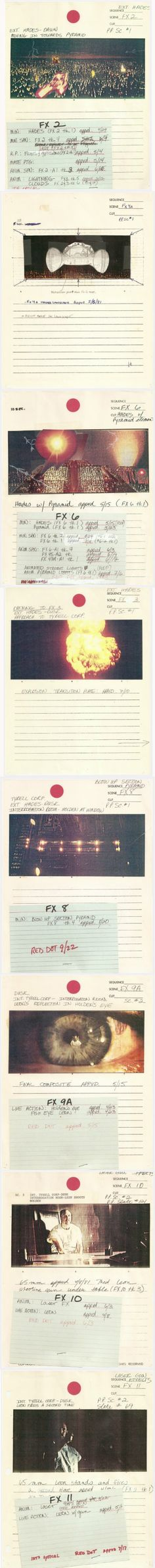 Blade Runner Story Boards