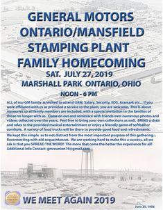 Mansfield Ohio, Ontario, Homecoming