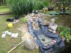 bachlauf selber bauen | zahrada | pinterest | garten, Garten und Bauen