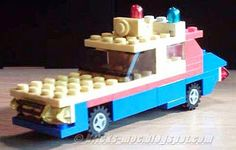 The MOC Blog: Lego Moc A-Team GMC Vandura Mad Max Interceptor  P...