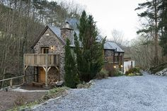 This beautiful 18th century water mill situated in Corwen, North Wales, was completely restored by DMD Group with an extensive use of timber...