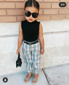 Cute Little Girls Outfits, Baby Outfits, Kids Outfits Girls, Toddler Girl Outfits, Cute Kids Fashion, Little Girl Fashion, Toddler Fashion, Foto Baby, Toddler Girl Style