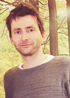 The adorable David Tennant.