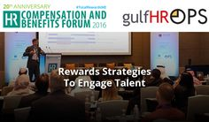 "#GulfHR and #OPS invites you and your company to join us at #TotalRewardsME.  Under the theme of ""Reward Strategies to Engage Talent in an Uncertain Economy"", the 20th edition of the event provides a platform to learn and develop breakthrough, innovative rewards strategies that motivate and retain employees to deliver outstanding business performance. As a valued contact of ours, the organisers have arranged an exclusive 15% discount for you to attend the event."