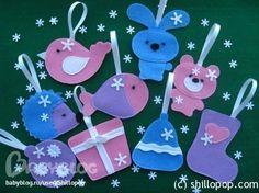 Елочные игрушки из бумаги своими руками - Самодельные