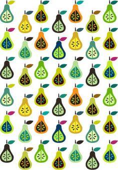 {pear pattern}