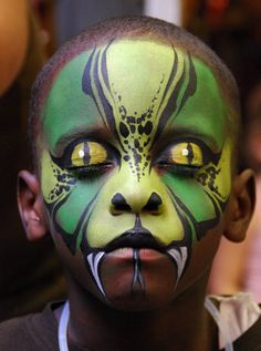 Face painting is very common among people of all ages. People like to take different pictures on their faces. The painting is done with res...
