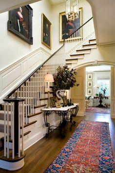 Entry Halls, Interior Design, Hall Decor, Exclusive Design For More… Design Hall, Hall Interior Design, Interior Photo, Modern Interior, Design Design, Design Trends, Beautiful Interiors, Beautiful Homes, Beautiful Life