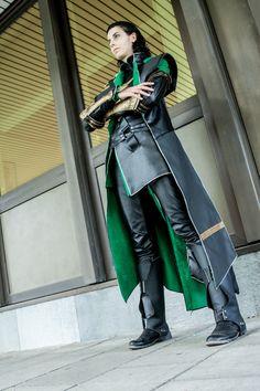 Loki Cosplay (Marvel's the Avengers) by Abessinier.deviantart.com on @deviantART