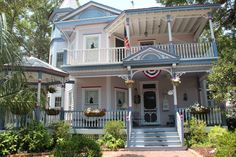"""The place that put Southport on the filmmaking map is the Northrup House at 229 North Caswell Ave. It served as the Magrath home in Bruce Beresford's """"Crimes of the Heart"""". Southport North Carolina, Southport Beach, Screen Film, Oak Island, Safe Haven, Filming Locations, Next At Home, Victorian Homes, Small Towns"""