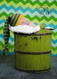 Newborn Baby Hat Boy Girl Crochet Pixie Hat
