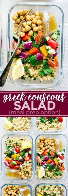 greek couscous salad | Posted By: DebbieNet.com