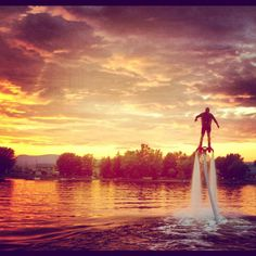Flyboarding! Definitely doing this asap...at any beach <3