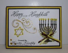 Hanukkah2009 by manetta - Cards and Paper Crafts at Splitcoaststampers