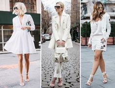 Estilo Meu - Consultoria de Imagem. Produções monocromáticas super estilosas - all white