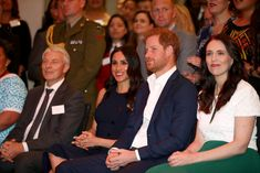 Meghan, Duchess of Sussex and Prince Harry, Duke of Sussex watch a cultural performance as they attend the Auckland War Memorial Museum for a reception hosted by Prime Minister Jacinda Ardern on. Get premium, high resolution news photos at Getty Images Moving To New Zealand, Visit New Zealand, Meghan Markle Photos, Memorial Museum, British Monarchy, Harry And Meghan, Duke And Duchess, Prince Harry, Prime Minister
