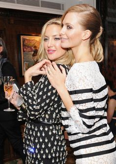 Kate Hudson and Poppy Delevingne. See all the other celebs on the May party scene.