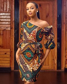 Beautiful Ankara fashion outfits - Ankara Lovers African Wear Dresses, Latest African Fashion Dresses, Ankara Fashion, African Print Fashion, African Attire, Fashion Outfits, Chitenge Dresses, South African Traditional Dresses, Mode Wax