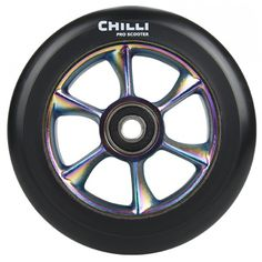 Chilli Pro Scooter Wheels Turbo Core Rainbow 110mm