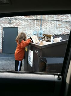 Dumpster Diving is so much fun.