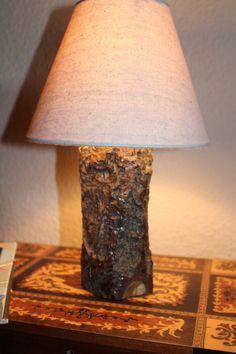 Holzlampe von ULLElampslightswood auf Etsy