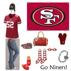 Emily needs this!    San Francisco 49ers Outfit www.fansedge.com/...