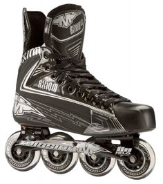 Mission Axiom A3 Roller Hockey Skate Roller Hockey Skates, Hockey Gear, Hockey Stuff, Inline Hockey, Inline Skating, Tricycle, Snug, Hiking Boots, Combat Boots