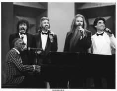 Ray Charles and The Oak Ridge Boys at the 19th Annual Music City News Country Awards, telecast live from the Opry House in Nashville on June 10, 1985 - performing  This Old Heart (Is Gonna Rise Again).