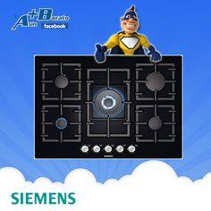 Placa de Crystal Gas Siemens EP716QB91E 5 quemadores