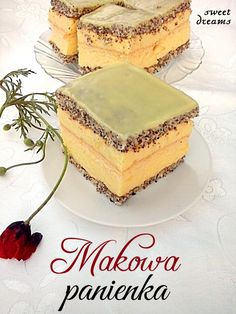 сладких снов Леди мак Polish Desserts, Polish Recipes, Cupcake Recipes, Baking Recipes, Traditional Cakes, Russian Recipes, Pastry Cake, Food Categories, Food Cakes
