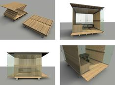 The submission period for the Design It Shelter Competition is over; now it's time to exercise your right to an anonymous online opinion by voting for your favorite shelter. Mobile Architecture, School Architecture, Architecture Design, Portable Shelter, Shelter Design, Tiny House Design, Interior Design, Home Decor, Shelters