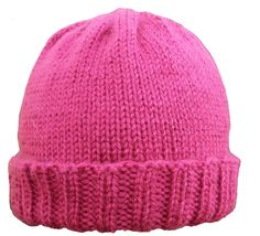 How to knit a hat on a round loom