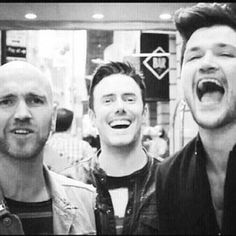 The Script- these three guys have changed my life so much with their music. They are truly amazing