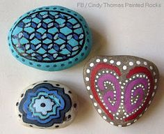 Painting Rock & Stone Animals, Nativity Sets & More: How to Paint Designs on Rocks and Stones