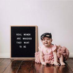 Let's raise real women!