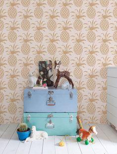 Adorable Pineapple Wallpaper