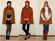 3 ways to wear a cape!! #CrazedChameleon