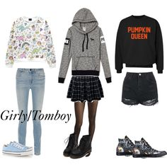 A fashion look from October 2015 featuring hoodie shirt, shirt top and print shirts. Browse and shop related looks. Wolford, Tomboy, Alexander Wang, Printed Shirts, Polyvore Fashion, Topshop, Converse, Fashion Looks, Girly