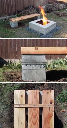 This bench was made to accompany the concrete fire pit that was made in a previous episode. Check out the website for the full instructions and material list! http://www.homemade-modern.com/ep57-outdoor-concrete-bench/