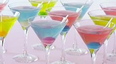 The Blow Pop Martini is the cocktail that began my obsession with bubble-gum flavored vodka. Its a perfect cocktail for spring break, or any kind of warm weather fete.