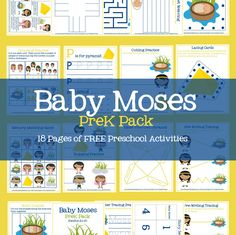 Hello! I hope you all are having a wonderful end of the year. I'm popping in to share a new preschool activity pack with you- Baby Moses! For those of you that are new around here the past …