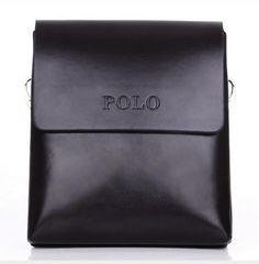 [Visit to Buy] 2016 Fashion POLO Famous Brand Leather Men Bag pu Leather Men Messenger Bag Vintage Casual Business  Men's Crossbody Bag  zs636 #Advertisement