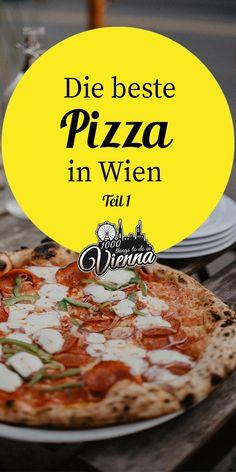 Wo man in Wien die beste Pizza genießt – Teil 1 Restaurant Bar, Pizza, Food And Drink, Travel Stuff, Travel Goals, Munich, Roads, Tiramisu, Trips